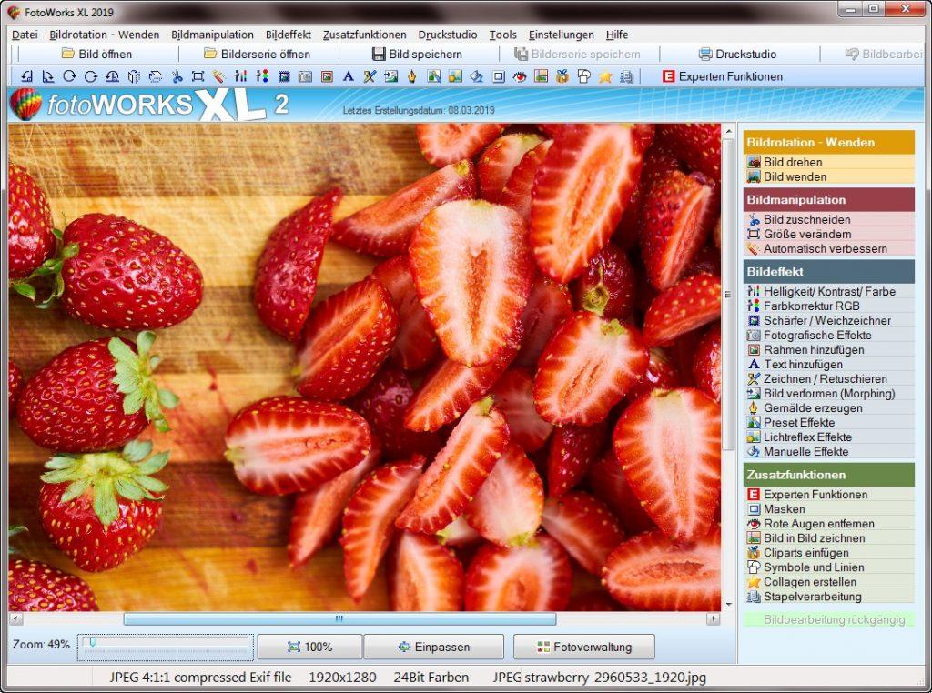 Einfaches Bildbearbeitungsprogramm für Anfänger